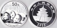 China, 50 Yuan(Silberpanda), 2013, Proof, 5 Unzen Silber, 350,00 EUR