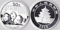 50 Yuan(Silberpanda), 2013, China, 5 Unzen Silber, Proof,  320,00 EUR