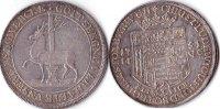 2/3 Taler, 1751, Deutschland, Stolberg-Stolberg,Christoph Ludwig und Fr... 495,00 EUR