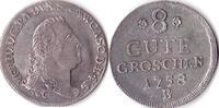 8 gute Groschen, 1758, Deutschland, Anhalt-Bernburg,Victor Friedrich,17... 305,00 EUR  + 5,00 EUR frais d'envoi