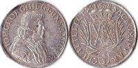 2/3 Taler, 1688, Deutschland, Sachsen,Johann Georg III., fast vz,  305,00 EUR  + 5,00 EUR frais d'envoi