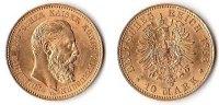 10 Mark, 1888, Deutschland, Kaiserreich,Königreich Preußen,  vz-st.,  255,00 EUR  + 5,00 EUR frais d'envoi