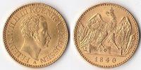 Doppelter Friedrichs d'or, 1840, Deutschland, Königreich Preußen,Friedr... 3850,00 EUR  + 10,00 EUR frais d'envoi