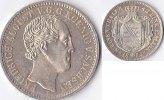 1/3 Taler 1854 Deutschland Königreich Sachsen,Friedrich August II vz  250,00 EUR  + 5,00 EUR frais d'envoi