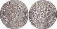 15 Kreuzer, 1665,Kremnitz,  Römisch Deutsches Reich, Leopold I.,1657-17... 150,00 EUR  + 5,00 EUR frais d'envoi