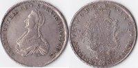 2/3 Taler, 1763, Deutschland, Sachsen-Weimar,Herzogtum,Anna Amalia,Vorm... 1200,00 EUR  + 10,00 EUR frais d'envoi