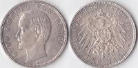 Fünf Mark, 1913, Deutschland, Kaiserreich,Königreich Bayern, vz,  55,00 EUR  + 3,50 EUR frais d'envoi