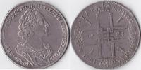 Rubel, 1724 Russland, Peter I.,1682-1725, sehr schön +,  795,00 EUR  + 10,00 EUR frais d'envoi