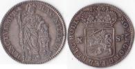 10 Stüber, 1761, Niederlande, Dordrecht, vorzüglich+, Prachtstück, selt... 285,00 EUR  + 5,00 EUR frais d'envoi
