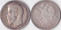 Rubel,Brüssel, 1897, Russland, Kaiserreich,Nikolaus II.,1894-1917, sehr... 100,00 EUR  + 3,50 EUR frais d'envoi