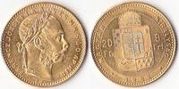 8 Forint, 1882,Kremnitz, Österreich, Kaiserreich,Franz Joseph I.,1848-1... 285,00 EUR  + 5,00 EUR frais d'envoi