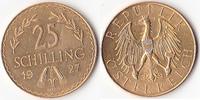 25 Schilling, 1927,Wien, Österreich,  vz-st.,  255,00 EUR  + 5,00 EUR frais d'envoi