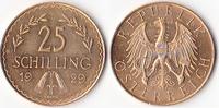 25 Schilling, 1929,Wien, Österreich,  vz.,  250,00 EUR  + 5,00 EUR frais d'envoi
