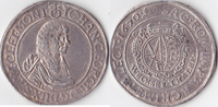 Wechseltaler,  Deutschland, Sachsen,Johann Georg II.,1656-1680, sehr sc... 640,00 EUR  + 10,00 EUR frais d'envoi