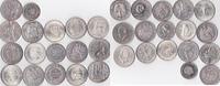 Lot von 17 Silbermünzen  Südamerika  sehr schön-vorzüglich,  415,00 EUR  + 5,00 EUR frais d'envoi