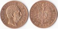Zehn Mark, 1878, Deutschland, Kaiserreich, Sachsen, Königreich, Albert,... 295,00 EUR  + 5,00 EUR frais d'envoi