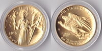 100 Dollars, 2015, USA, American Liberty H...