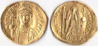 AU-Solidus, 538/545, Byzanz, Iustinianus I. , 527-565, Constantinopolis... 395,00 EUR  + 5,00 EUR frais d'envoi