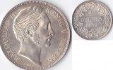 1 Gulden 1852 Deutschland Bayern,Maximilian II vz-st  185,00 EUR