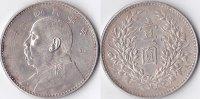 Dollar mit Kontermarke, 1914, China, Republik 1912-1949, sehr schön,  120,00 EUR  + 5,00 EUR frais d'envoi