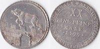 1/2 Konventionstaler, 1799, Deutschland, anhalt-Bernburg,Alexius Friedr... 220,00 EUR  + 5,00 EUR frais d'envoi