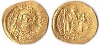 Solidus, o.J., Byzanz, Phocas,602-610, prägefrisch,  680,00 EUR  + 10,00 EUR frais d'envoi