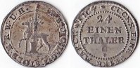 1/24 Taler, 1764, Deutschland, Friedrich Botho u. Stolberg-Roßla u. Kar... 150,00 EUR  + 5,00 EUR frais d'envoi