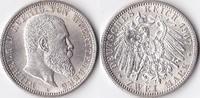 Zwei Mark, 1907, Deutschland, Kaiserreich,Königreich Württemberg vz-st.... 89,00 EUR  + 3,50 EUR frais d'envoi