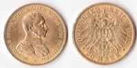 Zwanzig Mark, 1913, Deutschland, Kaiserreich,Königreich Preussen, vz.,  375,00 EUR  + 5,00 EUR frais d'envoi