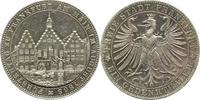 Frankfurt, Stadt Vereinstaler 1863 Broschierspur, sehr schön  55,00 EUR  zzgl. 5,00 EUR Versand