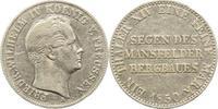 Brandenburg-Preußen Ausbeutetaler 1850  A Kl. Randfehler. Sehr schön Fri... 55,00 EUR  zzgl. 5,00 EUR Versand