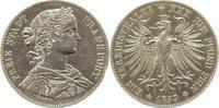 Frankfurt, Stadt Vereinstaler 1859 Randfehler u. Kratzer, sehr schön  30,00 EUR  zzgl. 5,00 EUR Versand