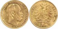 Preußen 10 Mark Gold Wilhelm I. 1861-1888.
