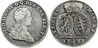 2/3 Taler 1768 Sachsen-Albertinische Linie Friedrich August III. 1763-1... 45,00 EUR  zzgl. 5,00 EUR Versand