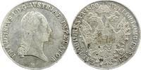 Taler 1820  M Haus Habsburg Franz II.(I.) 1792-1835. Sehr schön  70,00 EUR  zzgl. 5,00 EUR Versand