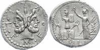 Denar  Republik M. Furius Philus L.f. 119 v. Chr.. vorzüglich  360,00 EUR  zzgl. 5,00 EUR Versand