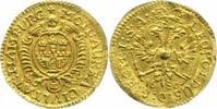 1/4-Dukat Gold 1680 Hamburg, Stadt  Etwas gewellt, sehr schön  320,00 EUR  zzgl. 5,00 EUR Versand