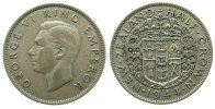 Neuseeland 1/2 Crown 1944 ss Ag Georg VI 45,00 EUR