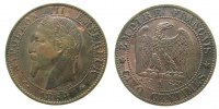 5 Centimes 1864 Frankreich Br Napoleon III tête laurée, A (Paris), Gad.... 33,50 EUR  zzgl. 3,95 EUR Versand