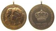 tragbare Medaille 1910 vor 1914 Bronze vergoldet Georg (1893-1911) Scha... 56,50 EUR  zzgl. 6,00 EUR Versand