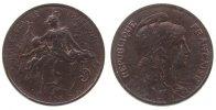 5 Centimes 1898 Frankreich Br Dupuis, minimal fleckig unz  45,00 EUR  zzgl. 3,95 EUR Versand