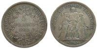5 Francs 1848 Frankreich Ag Herkulesgruppe, K (Bordeaux) s+  135,00 EUR  zzgl. 6,00 EUR Versand