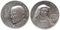 Medaille 1998 Speyer Silber Speyer - Johannes Paul II (1978-2005), auf ... 33,50 EUR  zzgl. 3,95 EUR Versand
