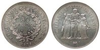 50 Francs 1975 Frankreich Ag Herkulesgruppe unz  39,50 EUR  zzgl. 3,95 EUR Versand