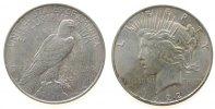 1 Dollar 1922 USA Ag Peace, S (San Francisco) ss-vz  33,50 EUR  zzgl. 3,95 EUR Versand
