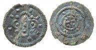 Denar 1095-16 o.J. Ungarn Ag Kolomon (1095-1116), ca. 0,13 Gramm, gekni... 39,50 EUR  zzgl. 3,95 EUR Versand