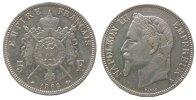 5 Francs 1869 Frankreich Ag Napoleon III, A (Paris) ss+  50,00 EUR  zzgl. 3,95 EUR Versand