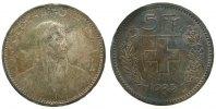 5 Franken 1923 Schweiz Ag HMZ 1199, Patina ss  45,00 EUR  zzgl. 3,95 EUR Versand