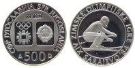 500 Dinara 1982 Jugoslawien Ag Olympiade Sarajewo, Abfahrtslauf pp  33,50 EUR  zzgl. 3,95 EUR Versand