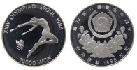 10000 Won 1988 Korea Süd Ag Olympiade Gymnastik pp  33,50 EUR  zzgl. 3,95 EUR Versand